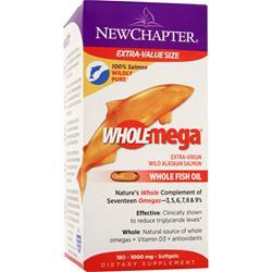NEW CHAPTER WholeMega (1000mg) 180 sgels