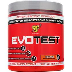 BSN Evotest Powder - Concentrated Testosterone Support Matrix Orange 264 grams