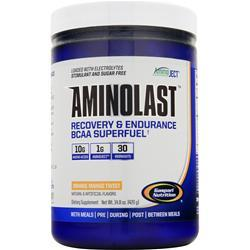 GASPARI NUTRITION Aminolast - Recovery & Endurance BCAA Superfuel Orange Mango Twist 420 grams