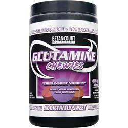BETANCOURT NUTRITION Glutamine Chewies Triple-Shot Variety 160 tabs
