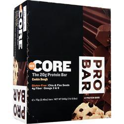 PRO BAR Core Bar Cookie Dough 12 bars