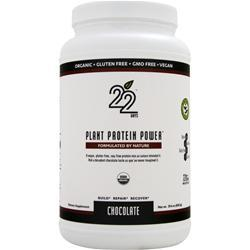 22 DAYS Plant Protein Powder Chocolate 29.6 oz