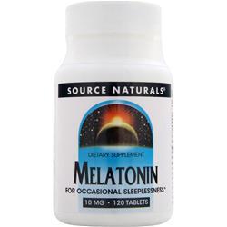 Source Naturals Melatonin (10mg) 120 tabs