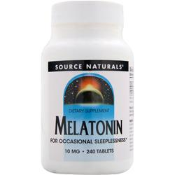 SOURCE NATURALS Melatonin (10mg) 240 tabs