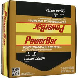 PowerBar Performance Energy Bar Cookie Dough 12 bars