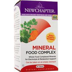 NEW CHAPTER Mineral Food Complex 90 tabs