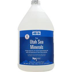 Trace Minerals Research Utah Sea Minerals 128 fl.oz