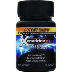 IOVATE Xenadrine XT - Xtreme Thermogenic 12 caps