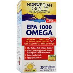 RENEW LIFE EPA 1000 Omega 30 sgels
