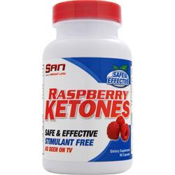 SAN Raspberry Ketones (100mg) 90 caps