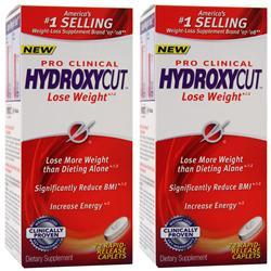 MUSCLETECH Hydroxycut Pro Clinical (Buy one Get one Free) 300 cplts