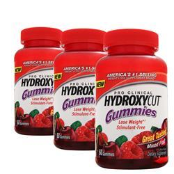 Muscletech Hydroxycut Pro Clinical Gummies (Buy Two get one Free) 180 gummy