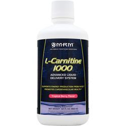 MRM L-Carnitine 1000 Liquid Tropical Berry 32 fl.oz