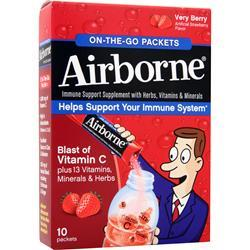 AIRBORNE Airborne - On The Go Packets Very Berry 10 pckts