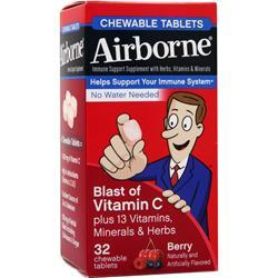 Airborne Airborne - Chewable Tablets Berry 32 tabs
