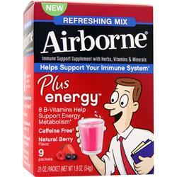 AIRBORNE Airborne - Refreshing Mix Berry 9 pckts