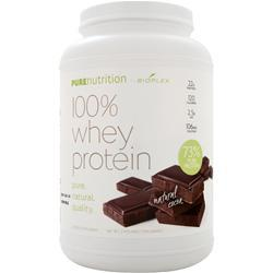 BIOPLEX NUTRITION Pure Nutrition - 100% Whey Protein (All Natural) Cocoa 2 lbs