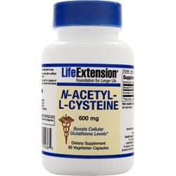 Life Extension N-Acetyl-L-Cysteine (600mg) 60 vcaps