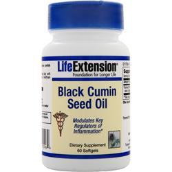 Life Extension Black Cumin Seed Oil 60 sgels