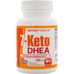 JARROW 7-Keto DHEA (100mg) 90 caps