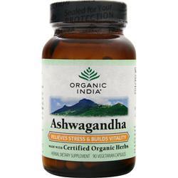 ORGANIC INDIA Ashwagandha 90 vcaps