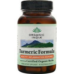 Organic India Turmeric Formula 90 vcaps