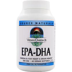 Source Naturals Vegan Omega-3s EPA-DHA 60 sgels
