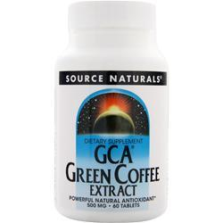 SOURCE NATURALS GCA Green Coffee Extract 60 tabs
