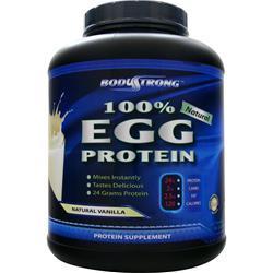 BodyStrong 100% Egg Protein - Natural Vanilla 5 lbs