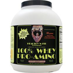 HEALTHY N FIT 100% Whey Pro-Amino Heavenly Chocolate 5 lbs