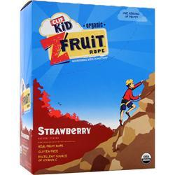 CLIF BAR Z Fruit Rope - Organic Strawberry 18 pckts