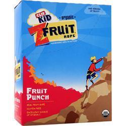 CLIF BAR Z Fruit Rope - Organic Fruit Punch 18 pckts