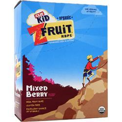 CLIF BAR Z Fruit Rope - Organic Mixed Berry 18 pckts