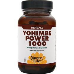 COUNTRY LIFE Yohimbe Power 1000 90 vcaps