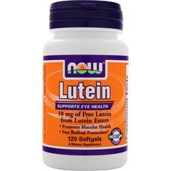 NOW Lutein (10mg) 120 sgels