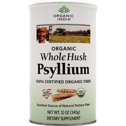 Organic India Fiber Harmony Whole Husk Psyllium Certified Organic Fiber 12 oz