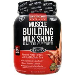 SIX STAR PRO NUTRITION Muscle Building Milk Shake Elite Series Triple Chocolate 2 lbs