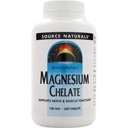 Source Naturals Magnesium Chelate 250 tabs