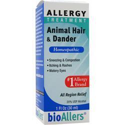 Bioallers Animal Hair & Dander 1 fl.oz