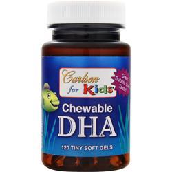 CARLSON for Kids - Chewable DHA Bubble Gum 120 sgels