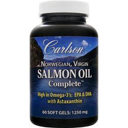 CARLSON Virgin Salmon Oil Complete 240 sgels