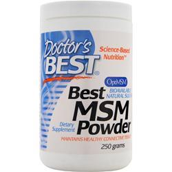 DOCTOR'S BEST Best MSM Powder 250 grams