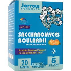 JARROW Saccharomyces Boulardii Orange Best by 8/14 20 pckts