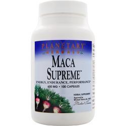 Planetary Formulas Maca Supreme 100 caps
