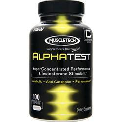 Muscletech Alphatest 100 caps