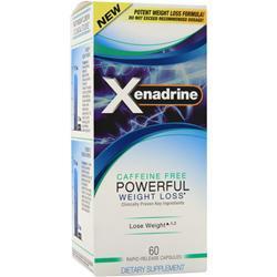 Iovate Xenadrine - Caffeine Free 60 caps