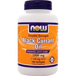 NOW Black Currant Oil (1,000mg) 100 sgels
