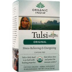 Organic India Tulsi Holy Basil Tea Original 18 pckts