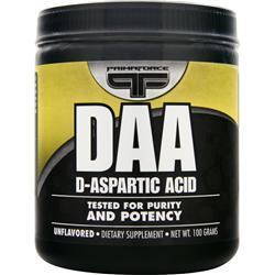 PRIMAFORCE D-Aspartic Acid Unflavored 100 grams