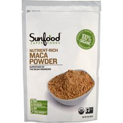 SUNFOOD Organic Maca Powder 8 oz